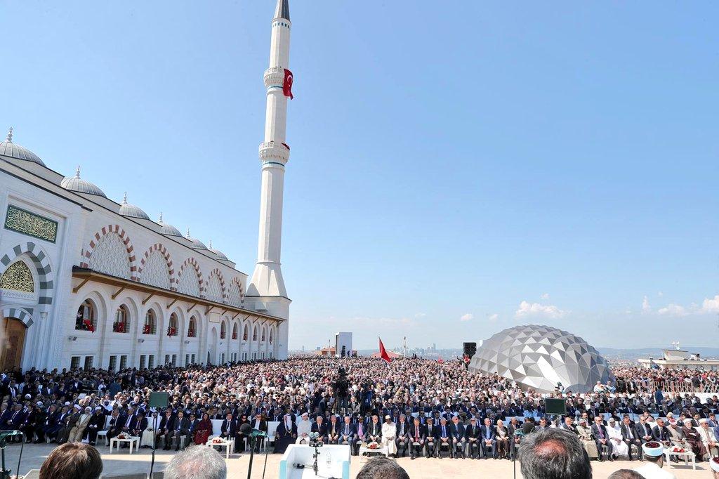 İstanbul Çamlıca Camii açıldı.jpg
